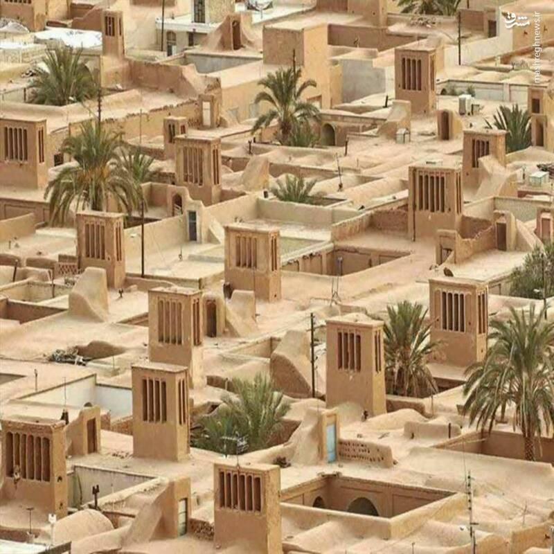 منظمترین روستای خشتی جهان+عکس