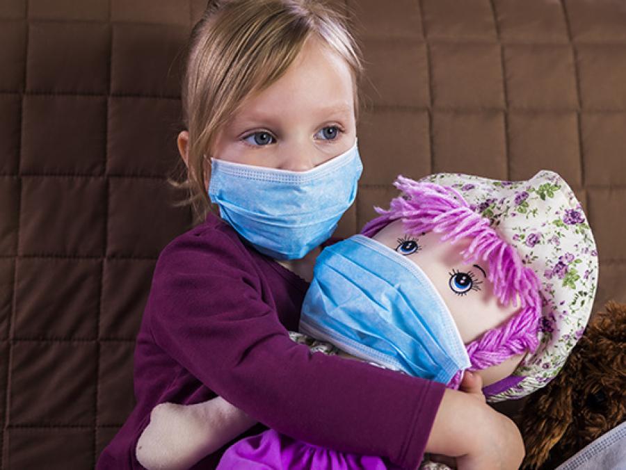 خطر ابتلا به کرونا در این کودکان بیشتر است