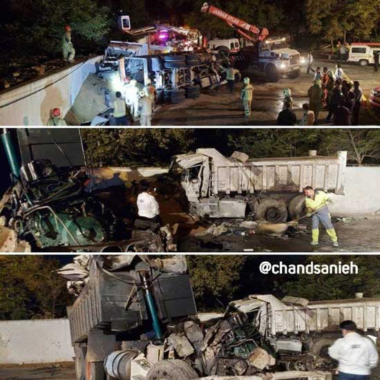 فوت سه نفر در حادثه مرگبار ولنجک تهران