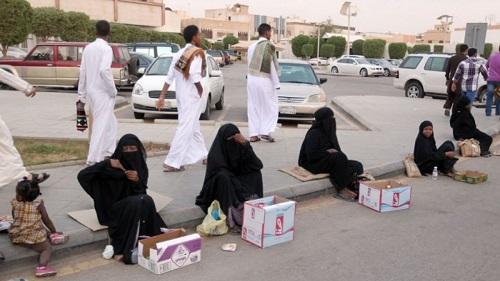 گدایی در عربستان ۲۶۶ میلیون جریمه دارد