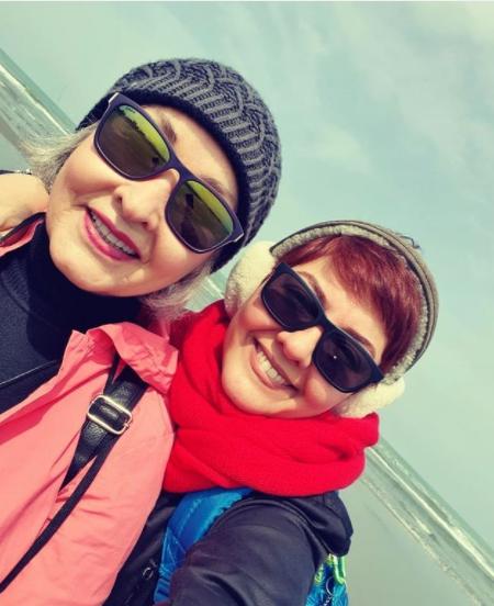 آناهیتا همتی در کنار مادرش + عکس