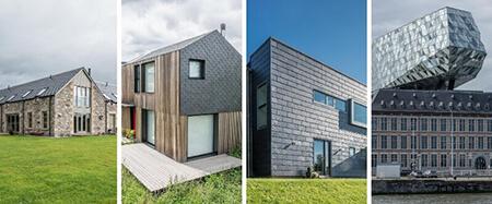 آشنایی با انواع متریال نمای ساختمان