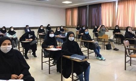 حضور دانشجویان از ۱۵ آبان الزامی نیست