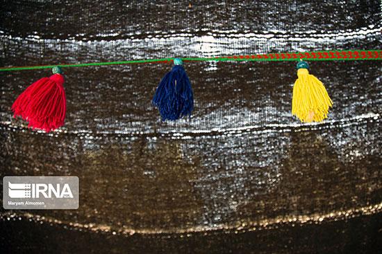 تصاویری از شیر دنگ بافی در چهارمحال و بختیاری