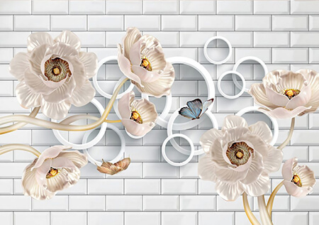 راهنمای استفاده از کاغذ دیواری سه بعدی
