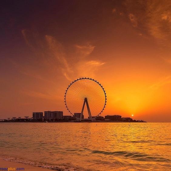 بلندترین چرخ و فلک جهان در دبی با ۲۵۰ متر ارتفاع + عکس