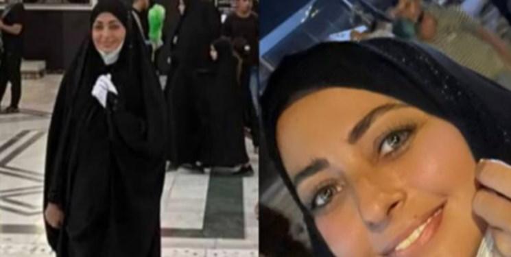 حضور بازیگران زن ایرانی در پیادهروی اربعین