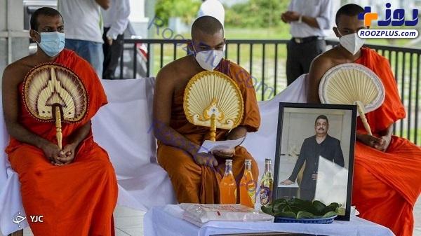 عاقبت مرد سریلانکایی که کرونا را با آب مقدس درمان میکرد