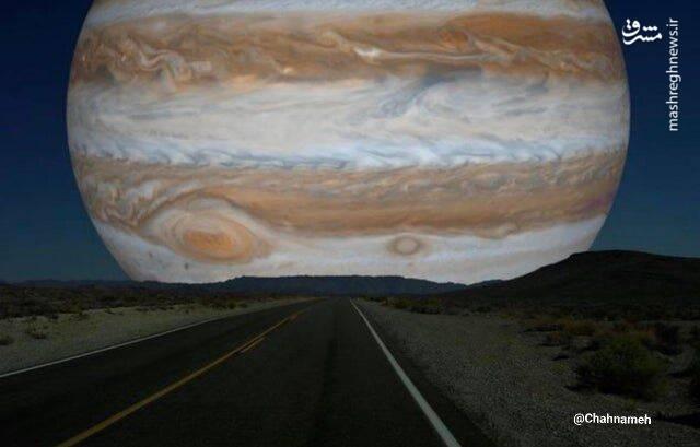 اگر مشتری همسایه زمین بود، آسمان چه شکلی میشد؟