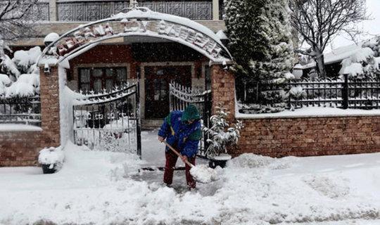 موج سرمای بی سابقه اروپا را فلج کرد + عکس