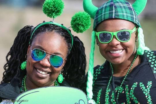 رژه روز «سنت پاتریک» در کشورهای مختلف