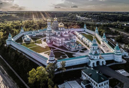 یک کلیسا در مسکو