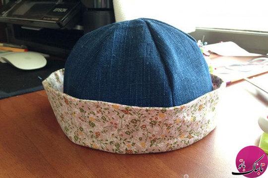لبهی کلاه میتواند به صورت برگشته نیز استفاده شود
