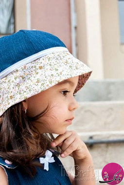 آموزش تصویری دوخت کلاه تابستانی