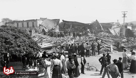 زلزله کالیفرنیا در سال 1906