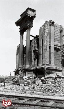 ویرانه تالار شهر سن فرانسیسکو پس از زلزله سال 1906