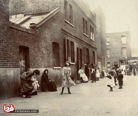وایت چپل لندن در سال 1902