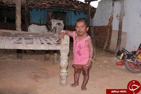 کوچکترین و بامزهترین پیرمرد دنیا +تصاویر
