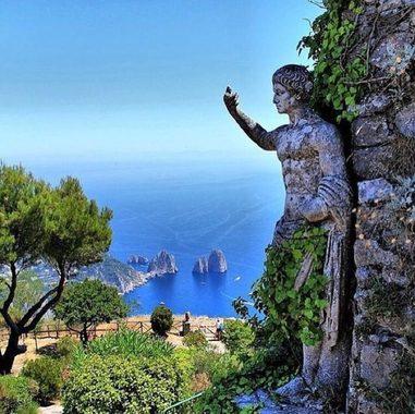 جزیره كاپرى، ایتالیا