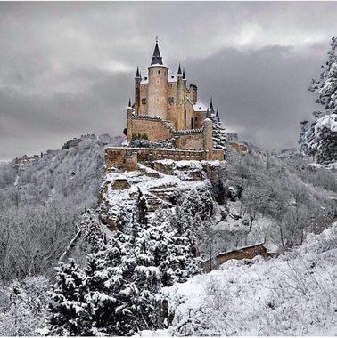 قلعه سگوویا، كشور اسپانیا.