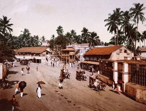 مومبای، هند – ما بين سالهای 1890 و1910