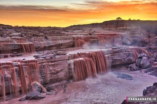 آبشارهای شکلاتی آریزونا