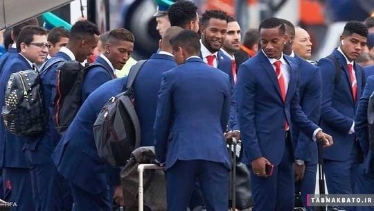 تیم ملی پرو و کراوات های خاص و منحصر به فردشان
