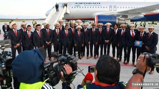 تیم ملی پاناما و کلاه های متفاوت
