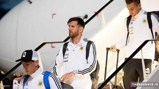 مسی و دوستان آرژانتینی اش