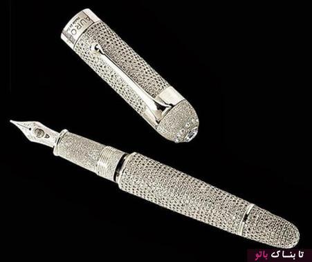 خودنویس الماس ۱.۴۷ میلیون دلار