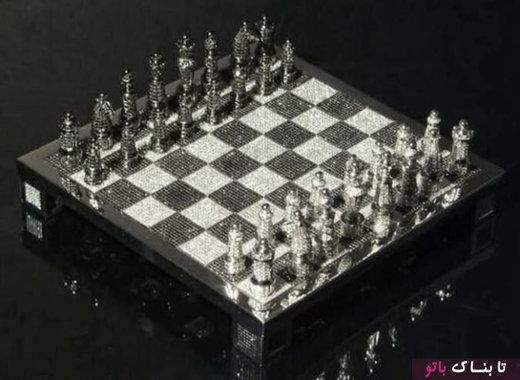 شطرنج ۹.۸ میلیون دلاری ساخته شده از الماس