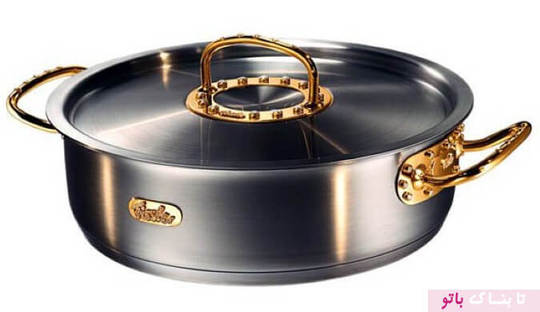 قابلمه ساخته شده با ۲۰۰ الماس و دستگیره های طلا