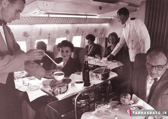 ریختن چای برای مسافران قسمت درجه یک / فِرست کلاس کانتاس
