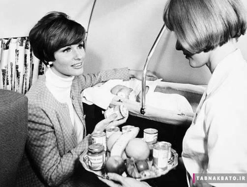 غذای مخصوص نوزادان در هواپیمای اس ای اس اسکاندیناوی
