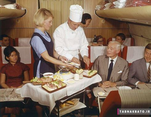 گاهی اوقات سرآشپز برای مسافران خاویار سرو می کرد