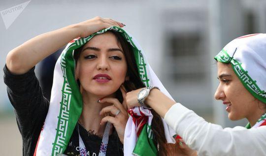 هواداران تیم ملی ایران قبل از بازی ایران و پرتغال
