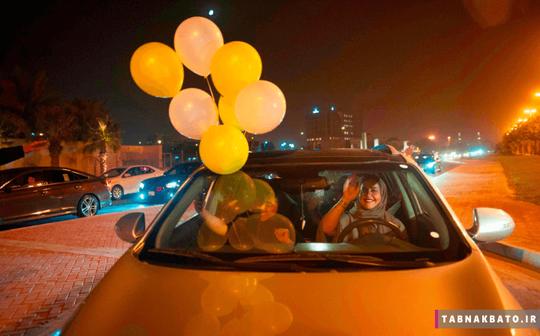 عربستان: شادی یک زن پس از رانندگی در خیابان های عربستان سعودی