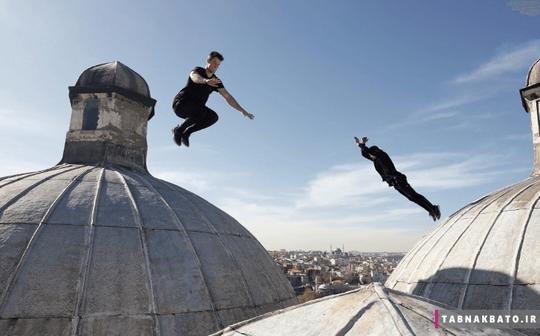 ترکیه: پارکور بر روی بناهای تاریخی استانبول