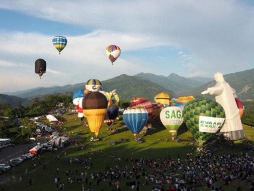 جشنواره بالن ها در تایوان