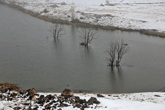 تصاویر/ آذربایجان شرقی سفیدپوش شد