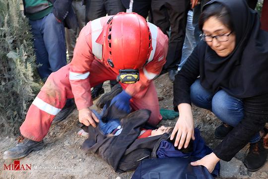 تصادف زنجیرهای مرگبار در مشهد+عکس