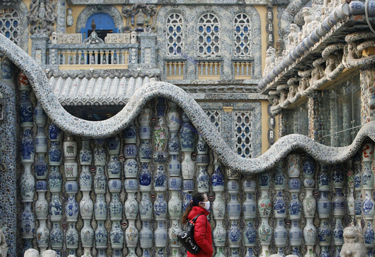 عکس زیبا خانه عجیب خانه زیبا بهترین نما ساختمان