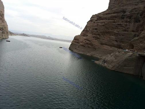 مناطق دیدنی ایران مناطق توریستی ایران عکس سد دز