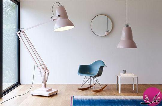 چراغ های غول پیکر، ایده ای نوین در طراحی داخلی