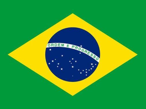 27ستاره نقش پرچم برزیل نشانه استانهای این کشور است و به همان صورت که در آسمان دیده میشود براین پرچم نقش بسته است. رنگ سبز سمبل جنگل ها و زرد نشانه ثروت طلای این کشور است.