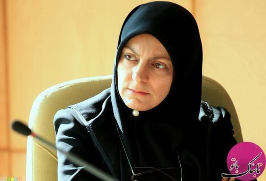خانم فریبا لاهوتی،مدیر کل دفتر ریاست سازمان محیط زیست کل کشور