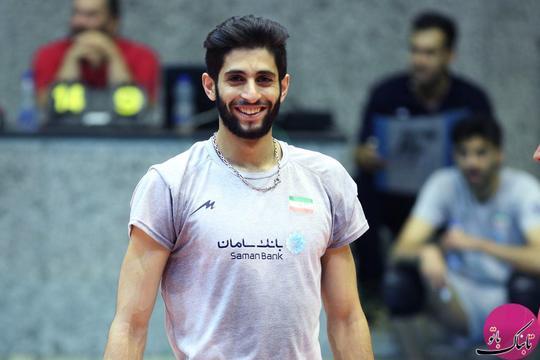 میلاد عبادی پور، ملی پوش والیبال کشور