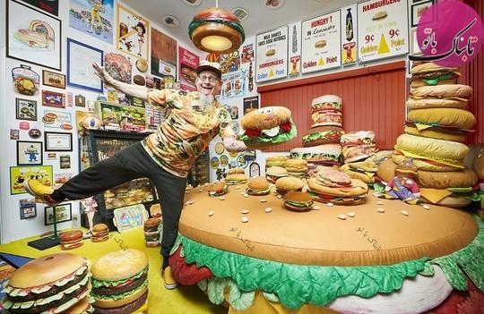 گردآوری مجموعه ای از همه انواع همبرگرها.