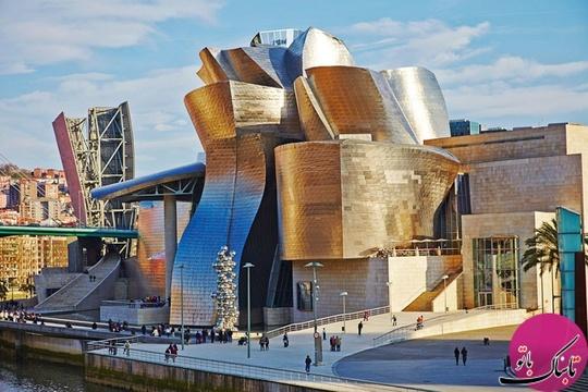 موزه گوگنهایم، بیلبائو، اسپانیا