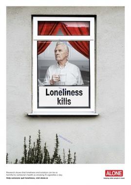 تنهایی کشنده است، سالمندان را تنها نگذاریم